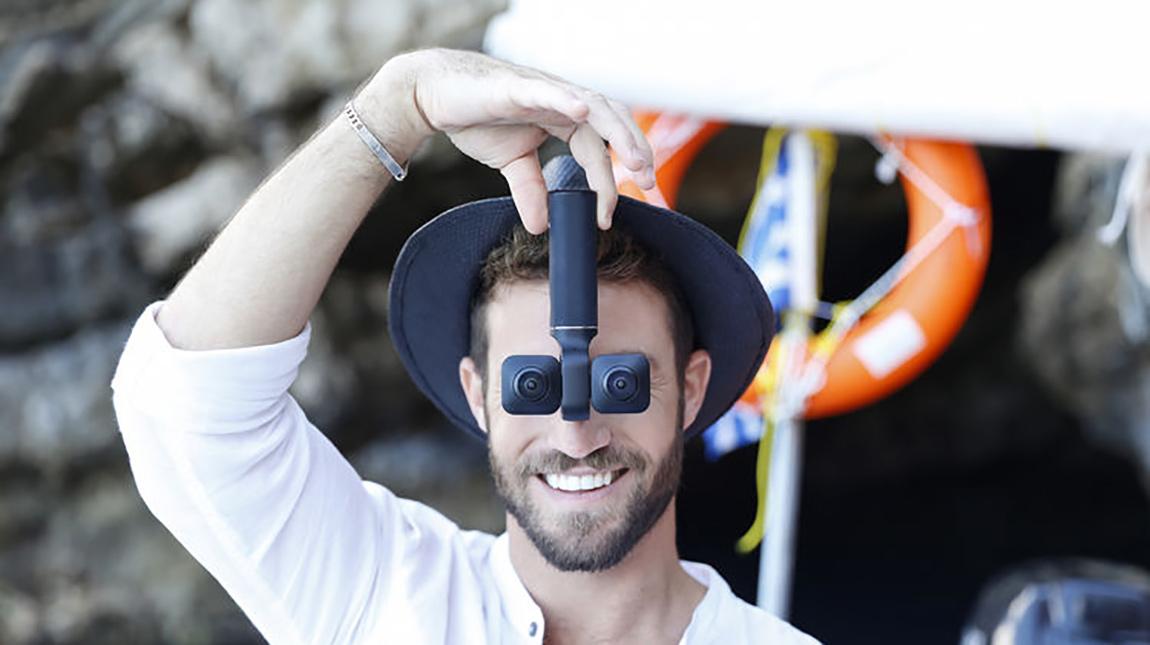 كاميرا Vuze XR لتصوير فيديو ثري دي و VR بجودة 5.7K