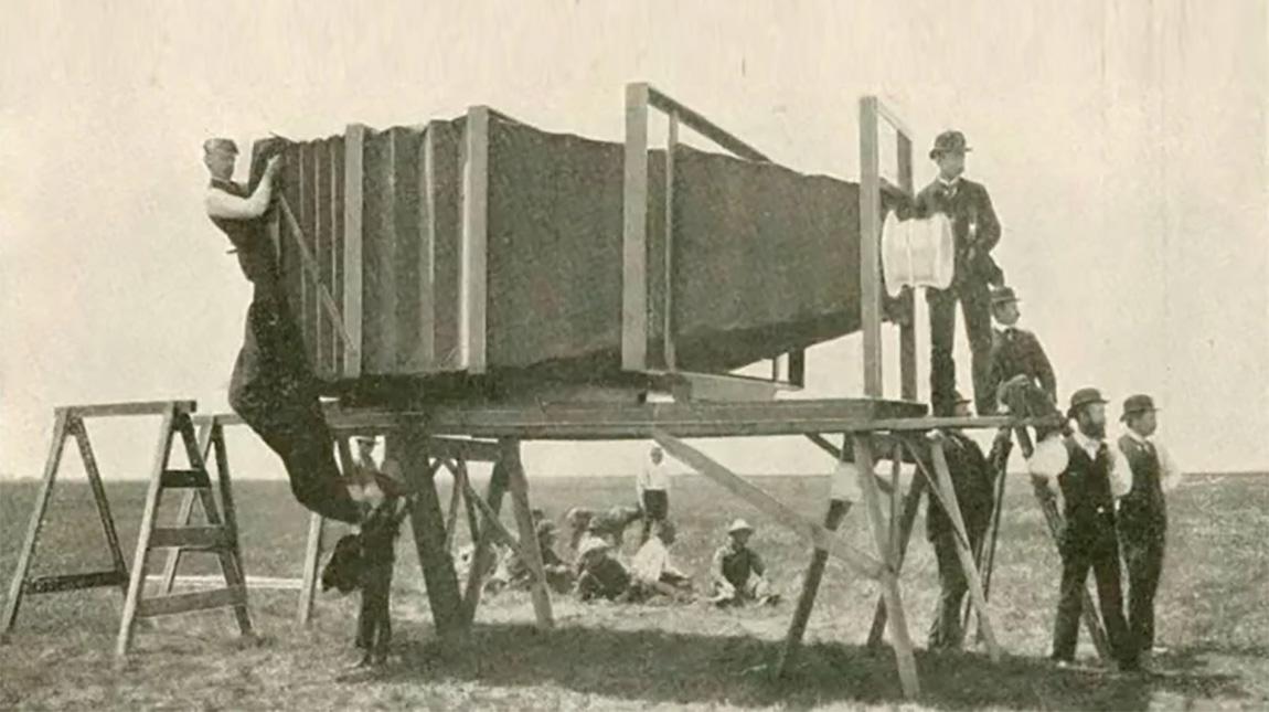 تعرف على اكبر كاميرا في العالم والتي تم تصنيعها عام 1900