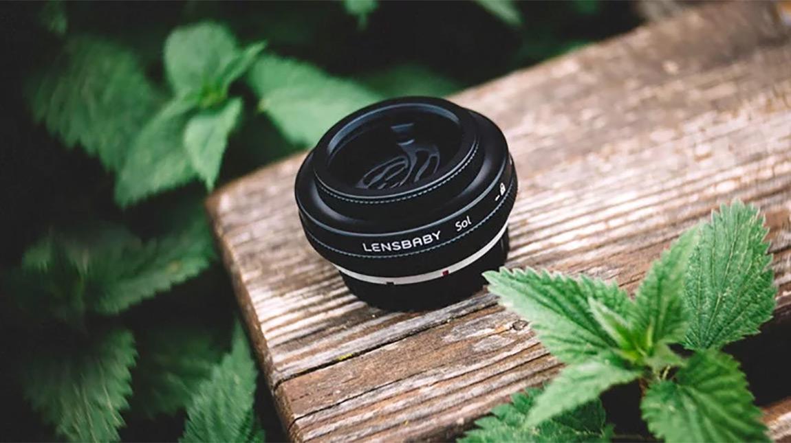عدسة Lensbaby Sol 45 مع حلقة للتحكم بتأثيرات الـ بوكه