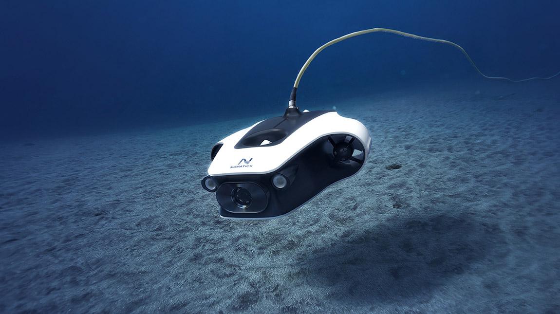 درون Navatics MITO لتصوير الفيديو تحت الماء بجودة 4K