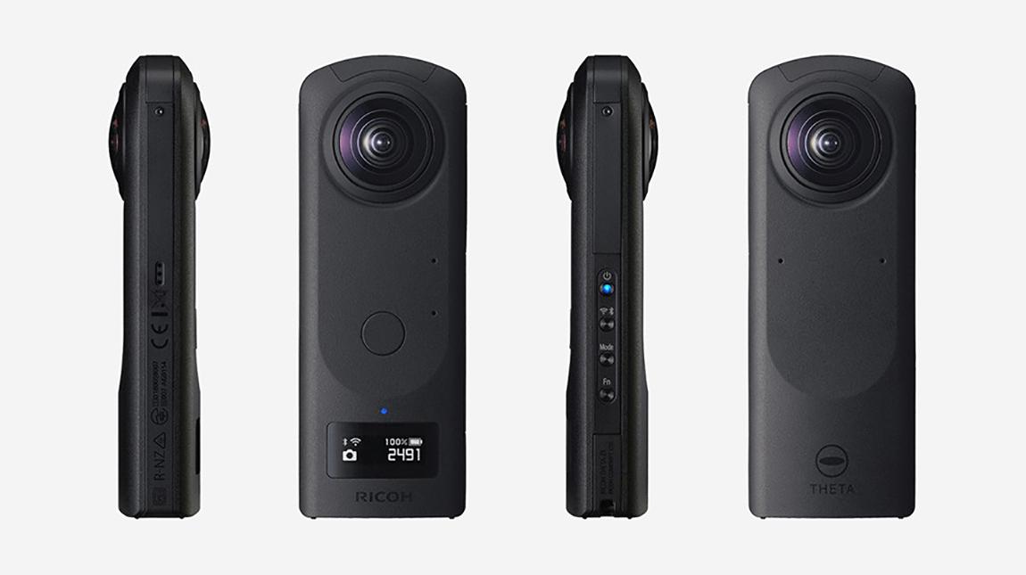 كاميرا THETA Z1 لتصوير فيديو 360 درجة بجودة 4K