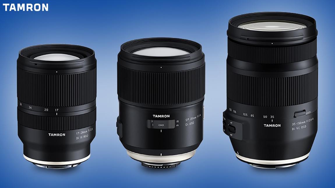 ثلاث عدسات تامرون جديدة لكاميرات كانون ونيكون وسوني