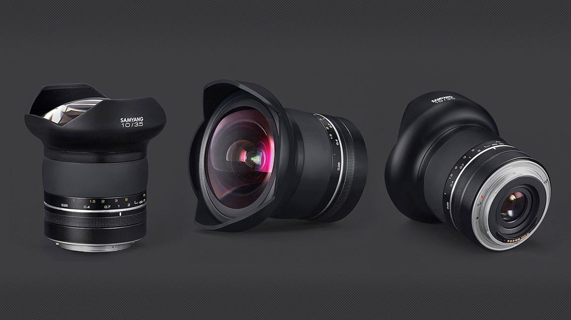 ساميانج XP 10mm اوسع عدسة مستقيمة في العالم