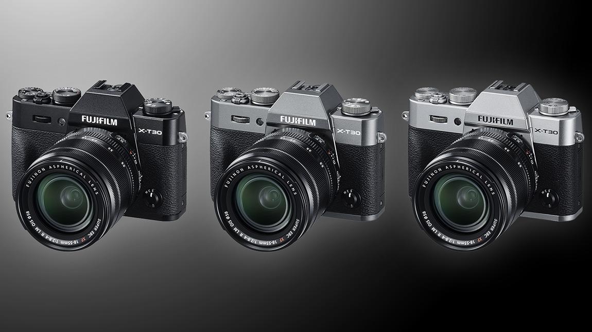 فوجي فيلم X-T30 كاميرا ميرورليس صغيرة الحجم بجودة 4K