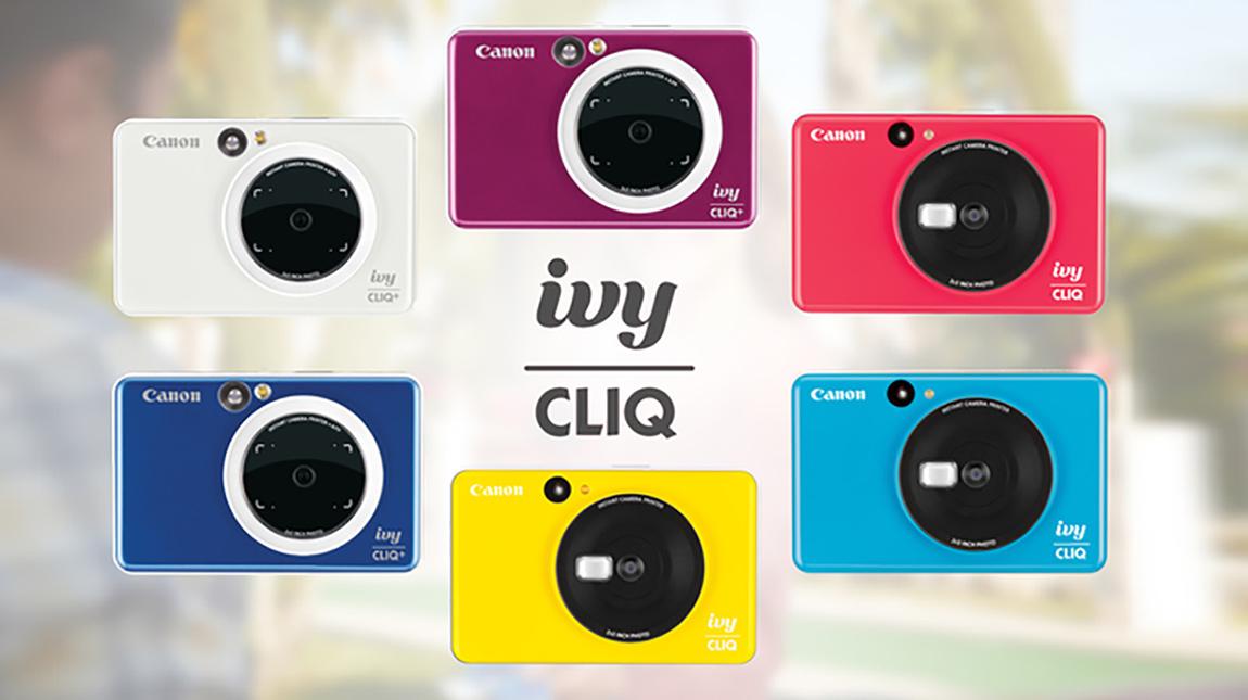 كانون تطلق كاميرتي IVY CLIQ و CLIQ+ للتصوير الفوري