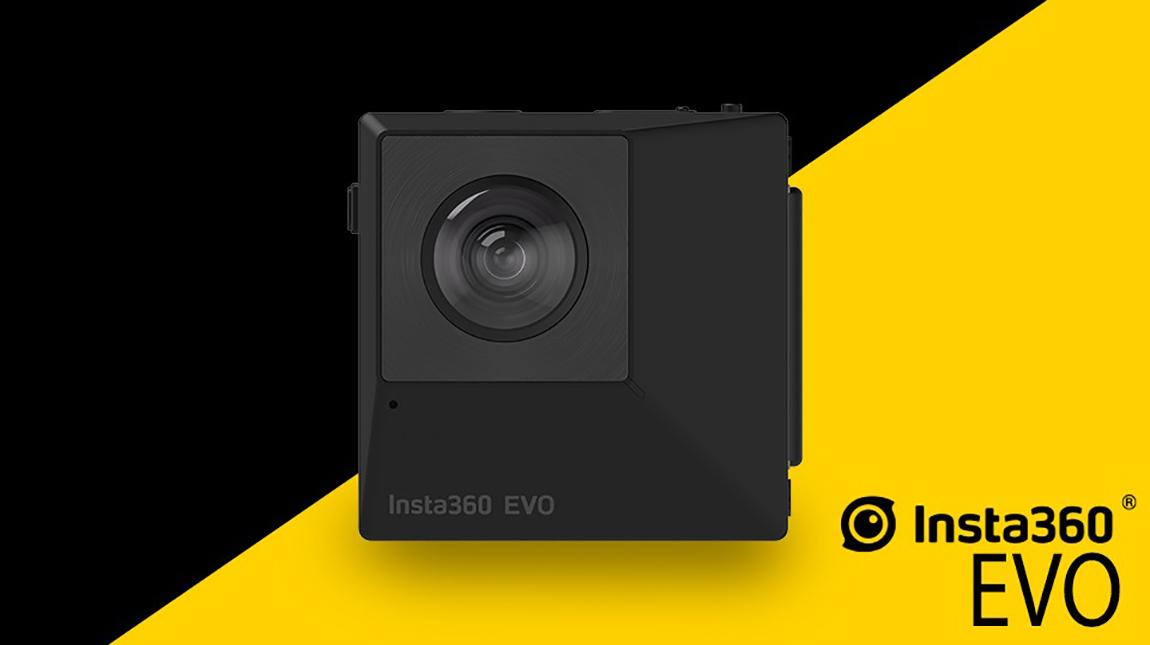 كاميرا Insta360 EVO لتصوير 3D فيديو 180 او 360 درجة