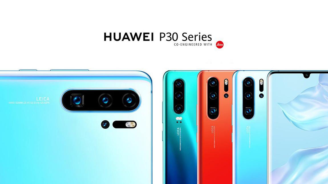 هواوي P30 Pro بحساسية ISO 409600 واربع كاميرات خلفية