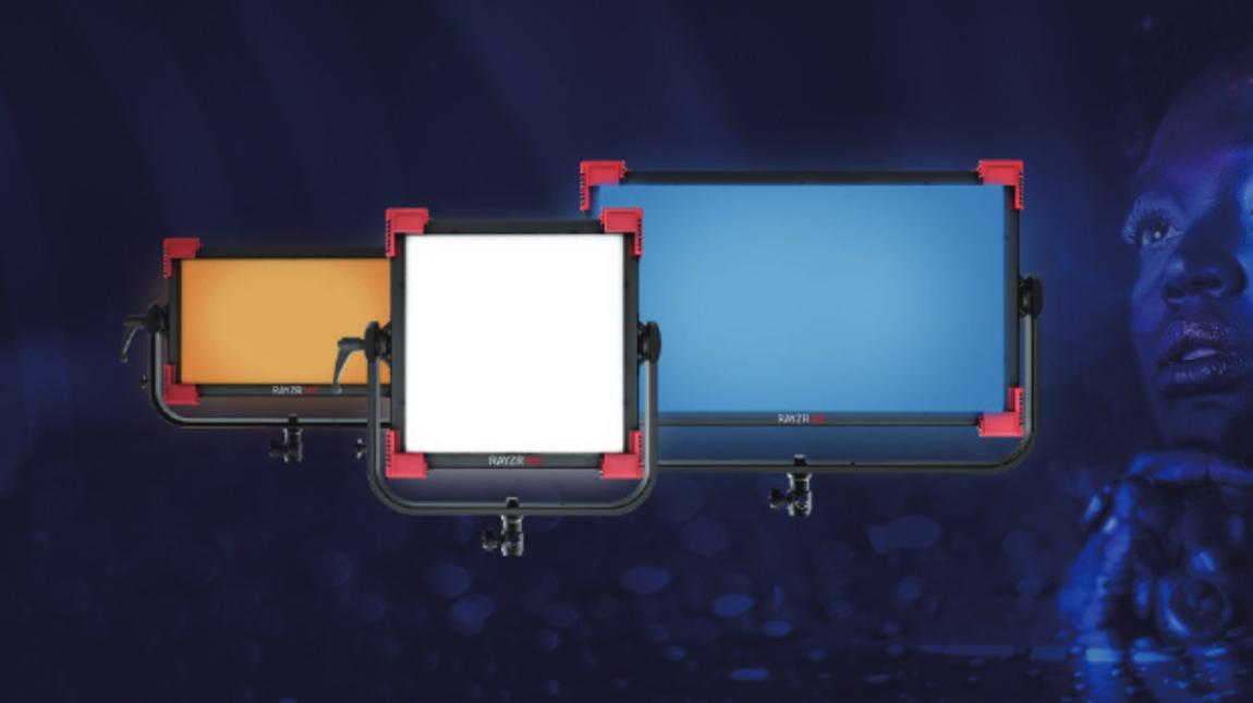 مجموعة Rayzr MC لوحات اضاءة LED لتصوير الفيديو