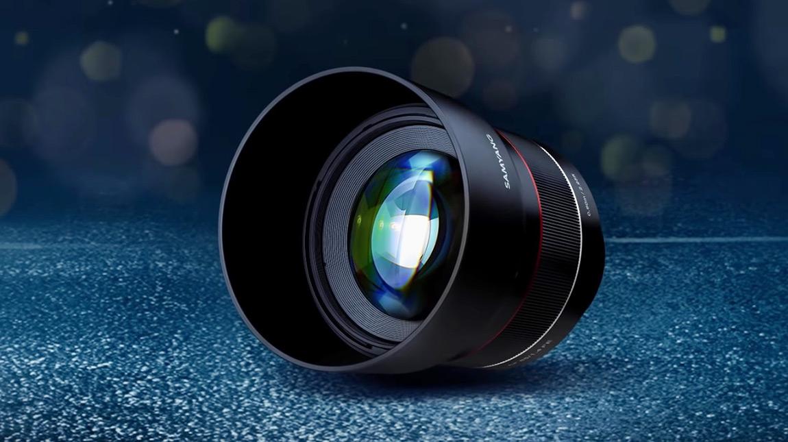 عدسة Samyang 85mm F1.4 جديدة لكاميرات سوني