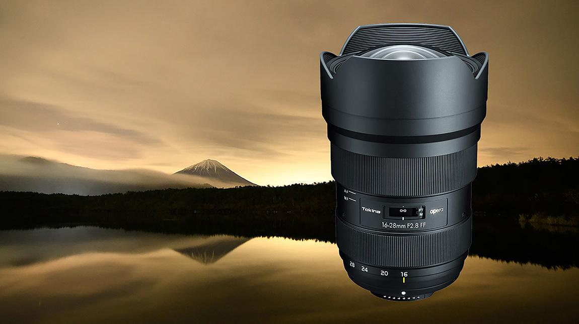 اطلاق عدسة توكينا Opera 16-28mm لكاميرات كانون ونيكون