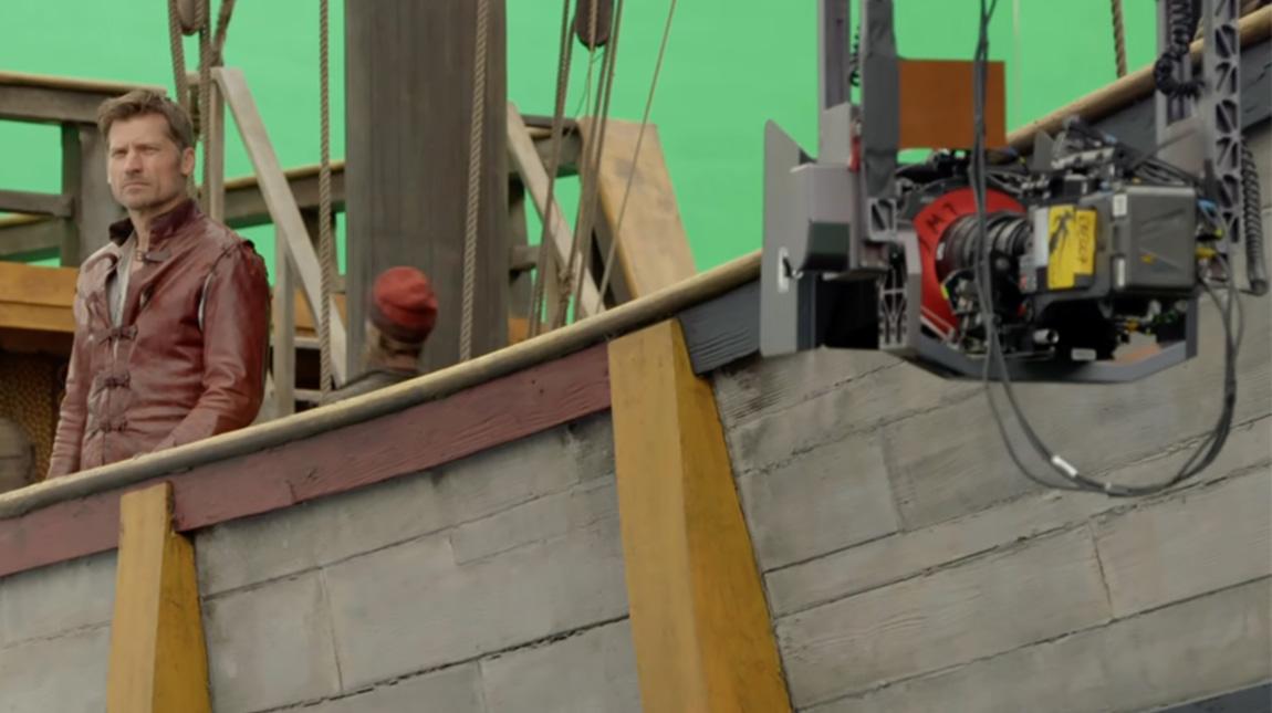 الكاميرات والعدسات المستخدمة في تصوير مسلسلات HBO
