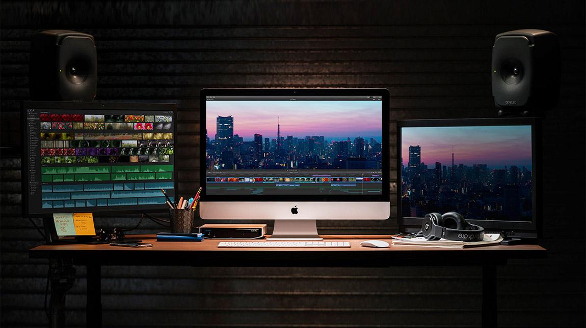 اجهزة ابل iMac 2019 مع اداء اسرع وافضل للمونتاج والتصميم