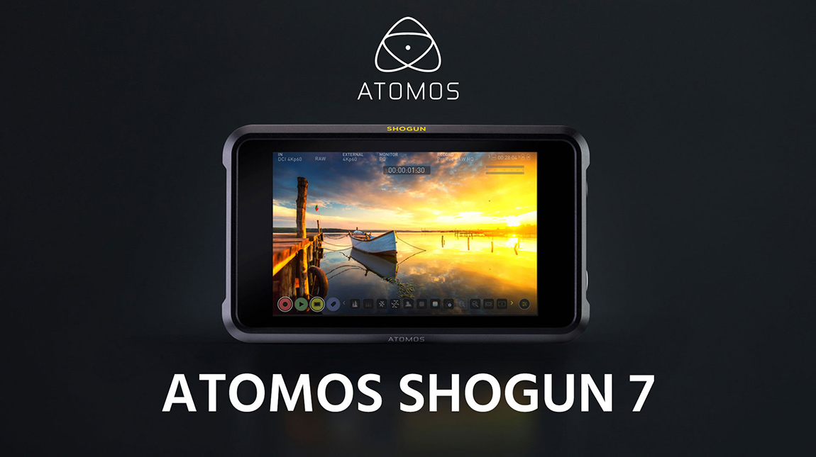 Atomos Shogun 7 شاشة لتسجيل الفيديو بصيغة 5.7K Raw