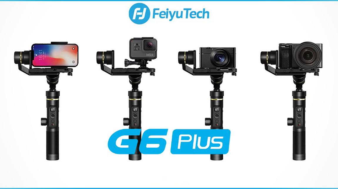 الاعلان عن Feiyu G6 Plus جيمبل للهواتف الذكية والكاميرات الرقمية