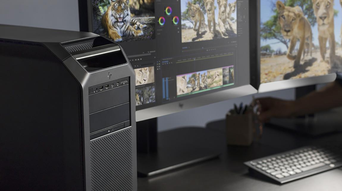 الإعلان عن HP Z8 و HP Z6 لمونتاج الفيديو بجودة 8K
