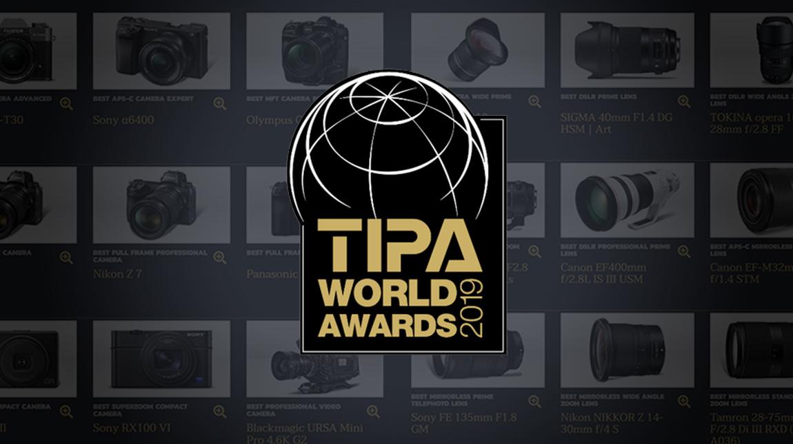 جائزة TIPA | تعرف على افضل منتجات التصوير لعام 2019