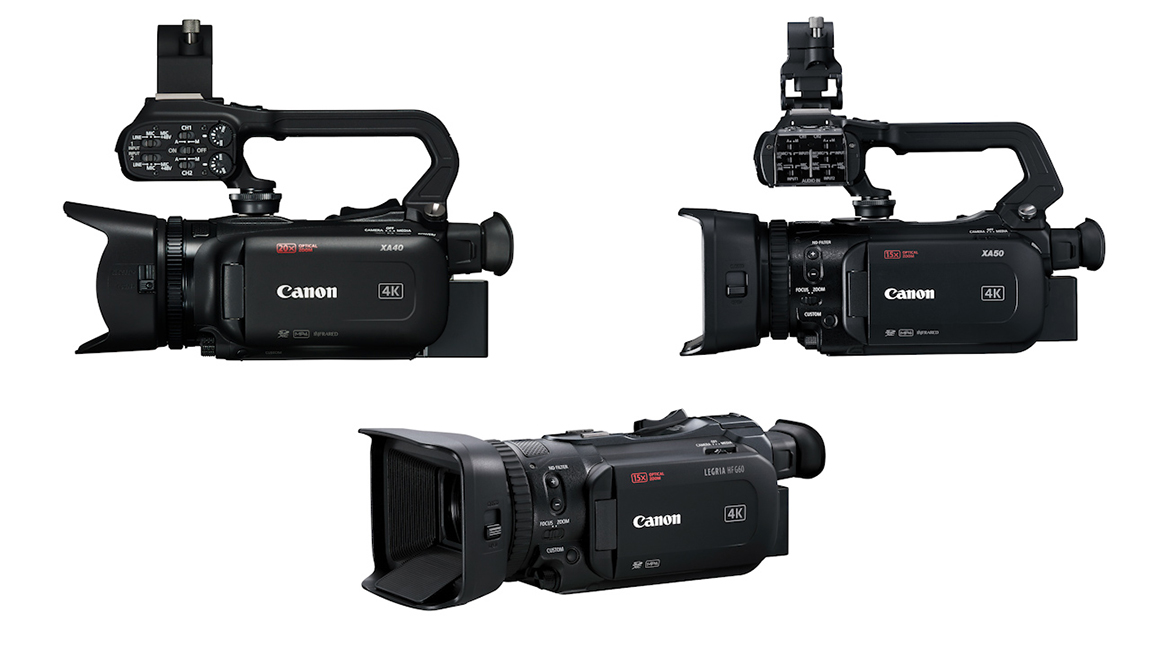 كانون LEGRIA | خمس كاميرات جديدة لتصوير الفيديو بجودة 4K