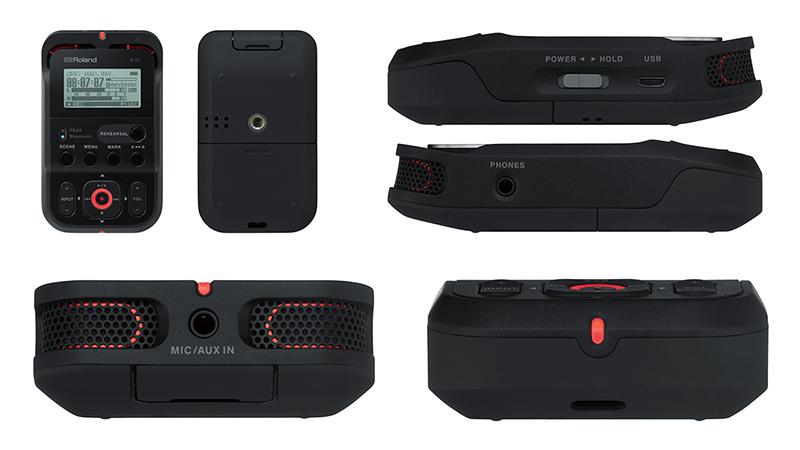 جهاز Roland R-07 المحمول لتسجيل الصوت بجودة احترافية