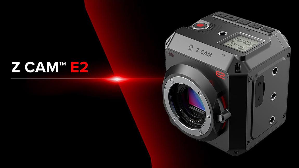 كاميرا Z Cam E2 لتصوير الفيديو بجودة 6K و 8K فل فريم