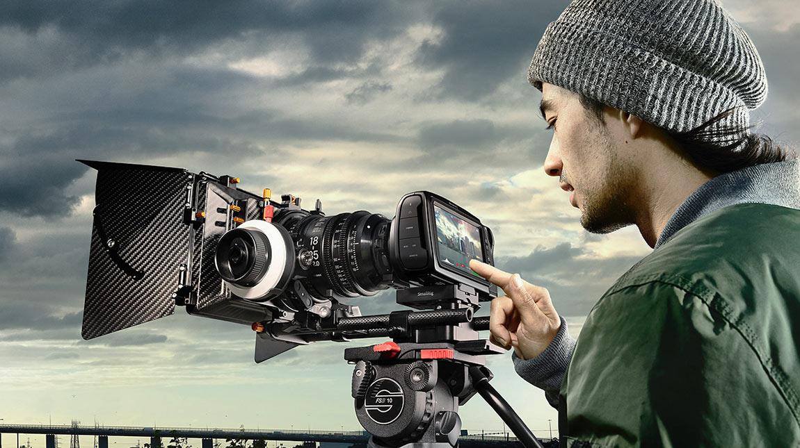 تحديث لكاميرا BMPCC 4K للتصوير بصيغة بلاك ماجيك Raw
