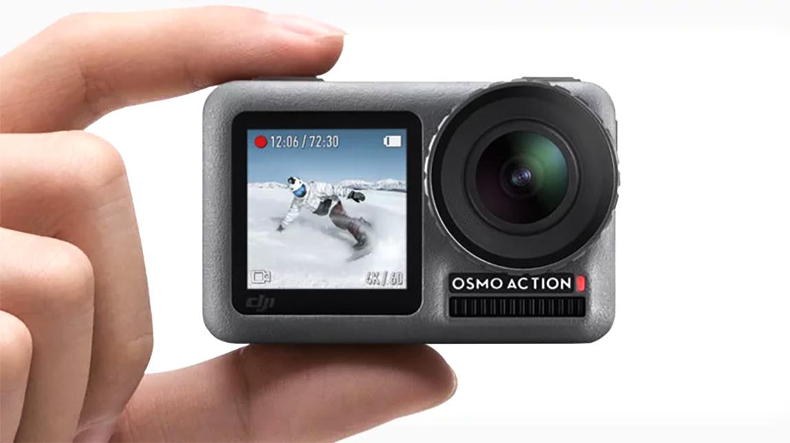 اطلاق DJI Osmo Action كاميرا بجودة 4K ونظام تثبيت وتصوير HDR