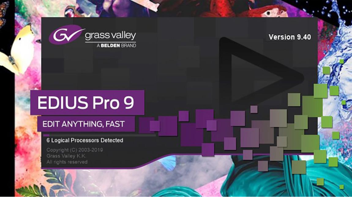 اطلاق الإصدار الجديد من برنامج EDIUS 9.40 لمونتاج الفيديو