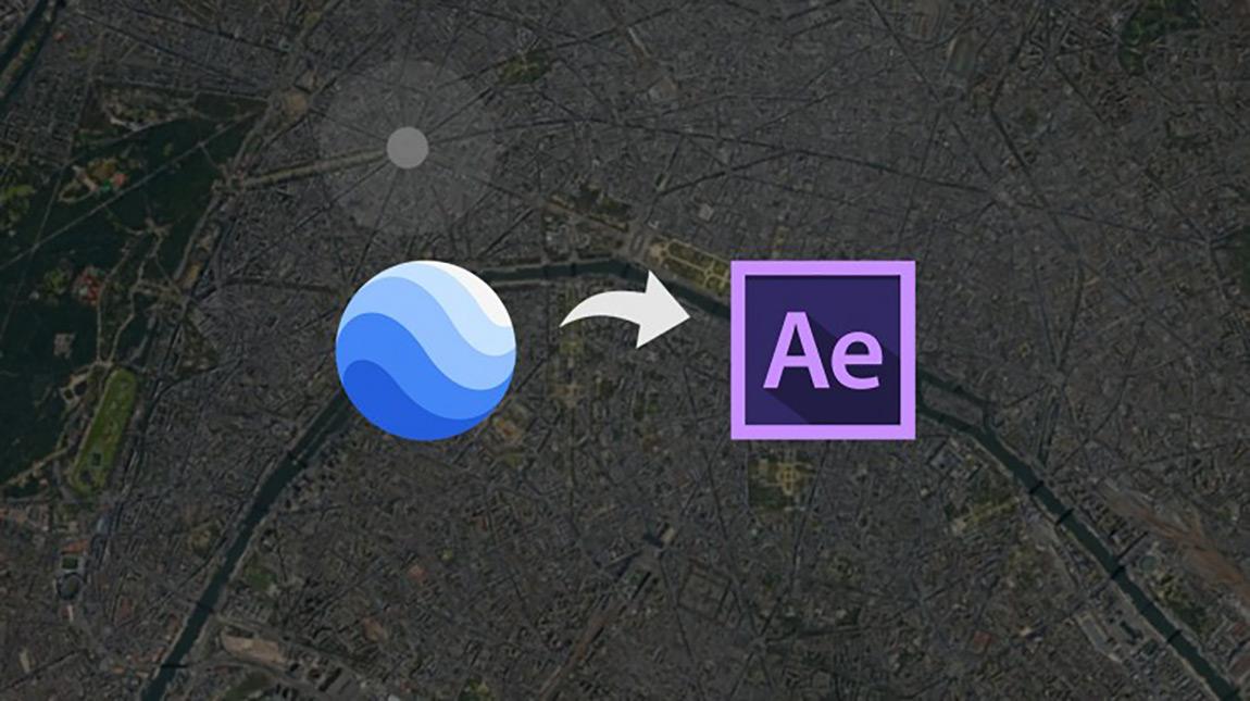 تعلم استخدام Google Earth Studio مع ادوبي افتر افكت