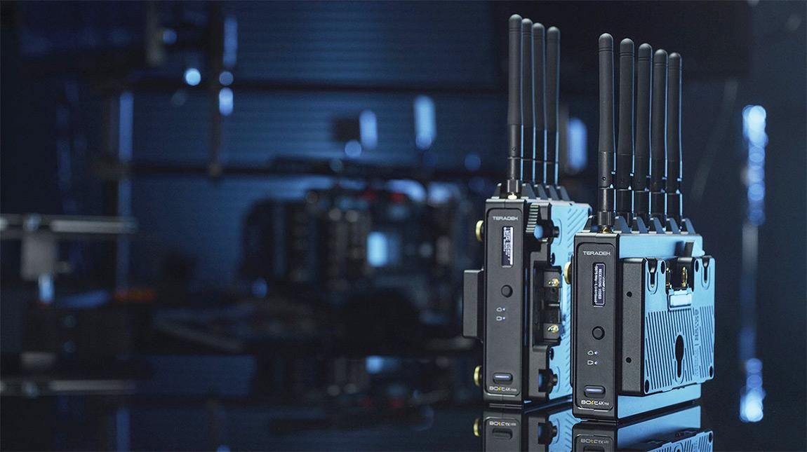 الإعلان عن Teradek Bolt 4K نظام بث الفيديو اللاسلكي