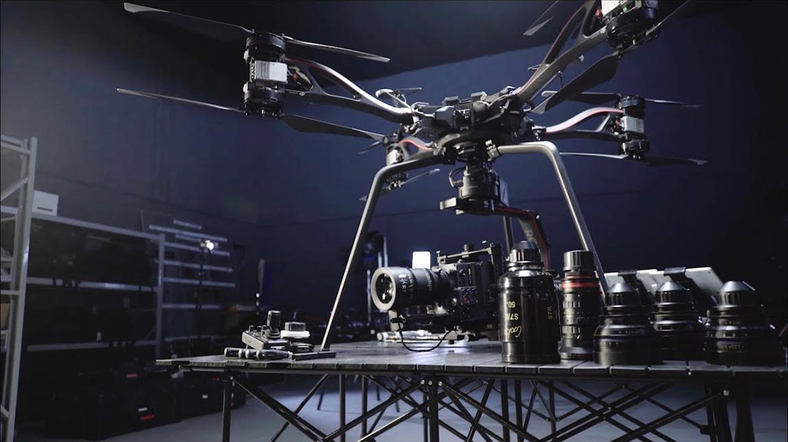 DJI Storm طائرة درون مخصصة لكاميرات ارري و RED