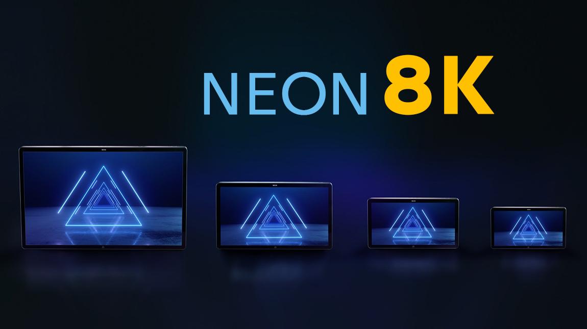 الإعلان عن Atomos Neon شاشة سينمائية لمراقبة وتسجيل الفيديو بجودة 8K