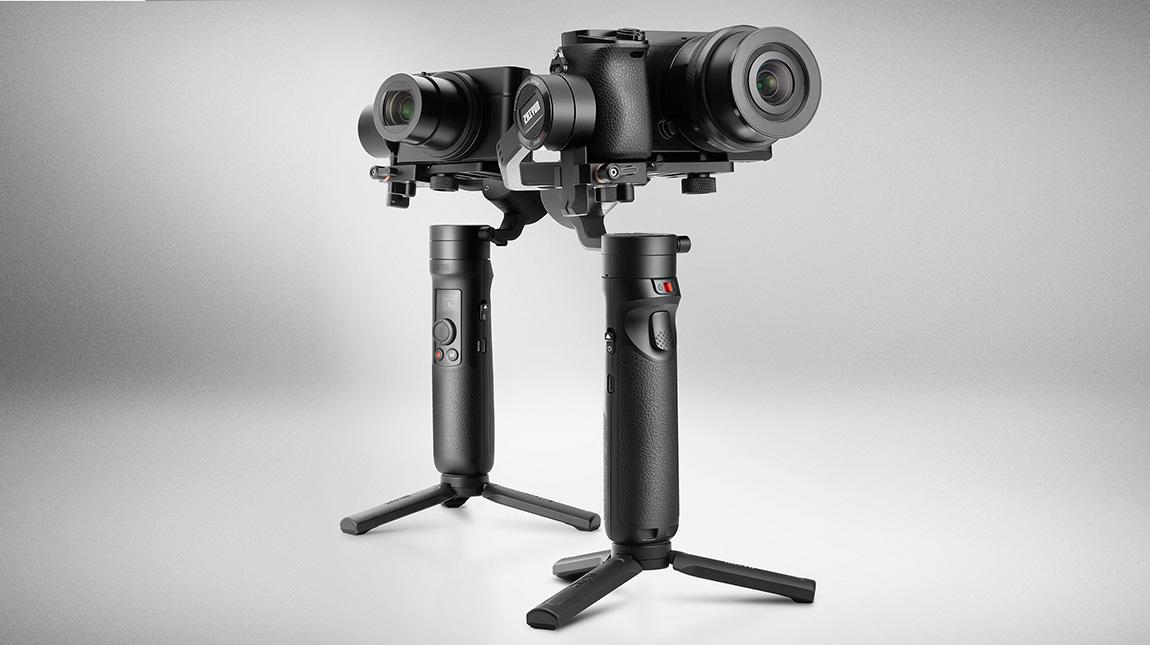 الاعلان عن CRANE-M2 مانع اهتزاز للكاميرات الخفيفة والهواتف المحمولة