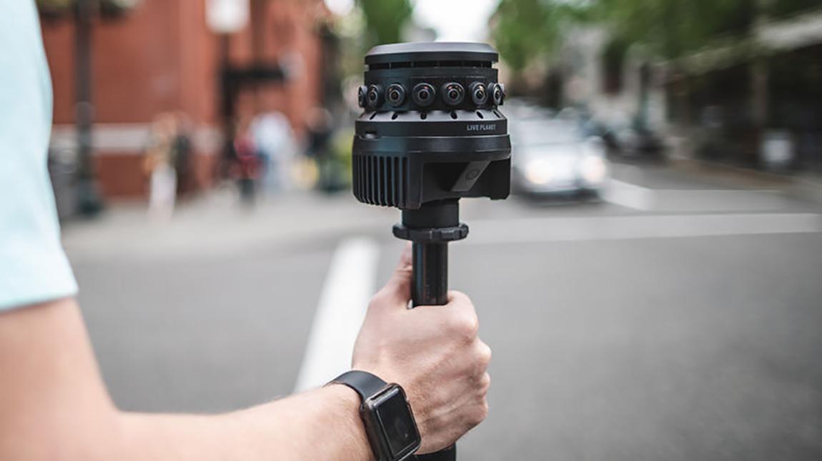 كاميرا Live Planet 360 VR لتصوير وبث الواقع الافتراضي بجودة 4K