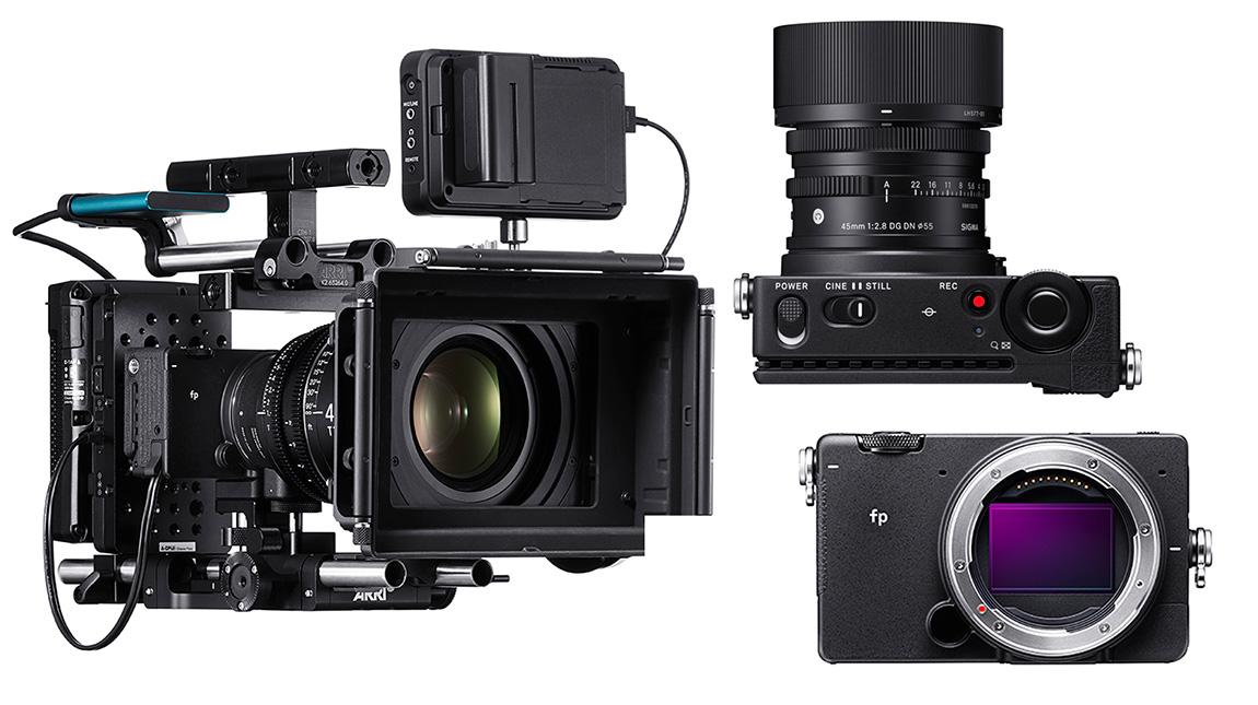 الاعلان عن Sigma fp كاميرا للتصوير السينمائي محمولة بالجيب