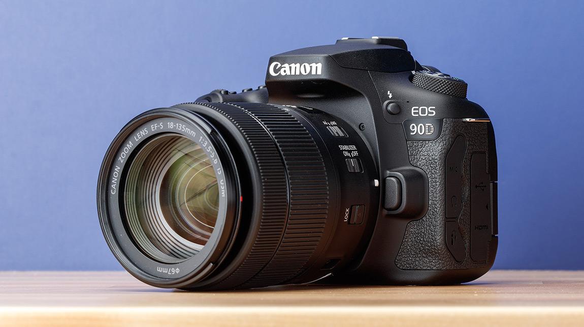 الاعلان عن كاميرا Canon 90D بوضوح 32 ميجابيكسل وتصوير 4K