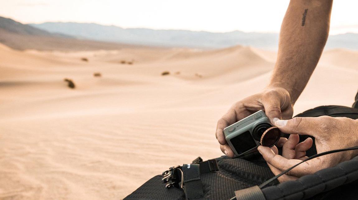 مجموعة PolarPro Osmo Action فلاتر تصوير احترافية لكاميرا اوزمو اكشن