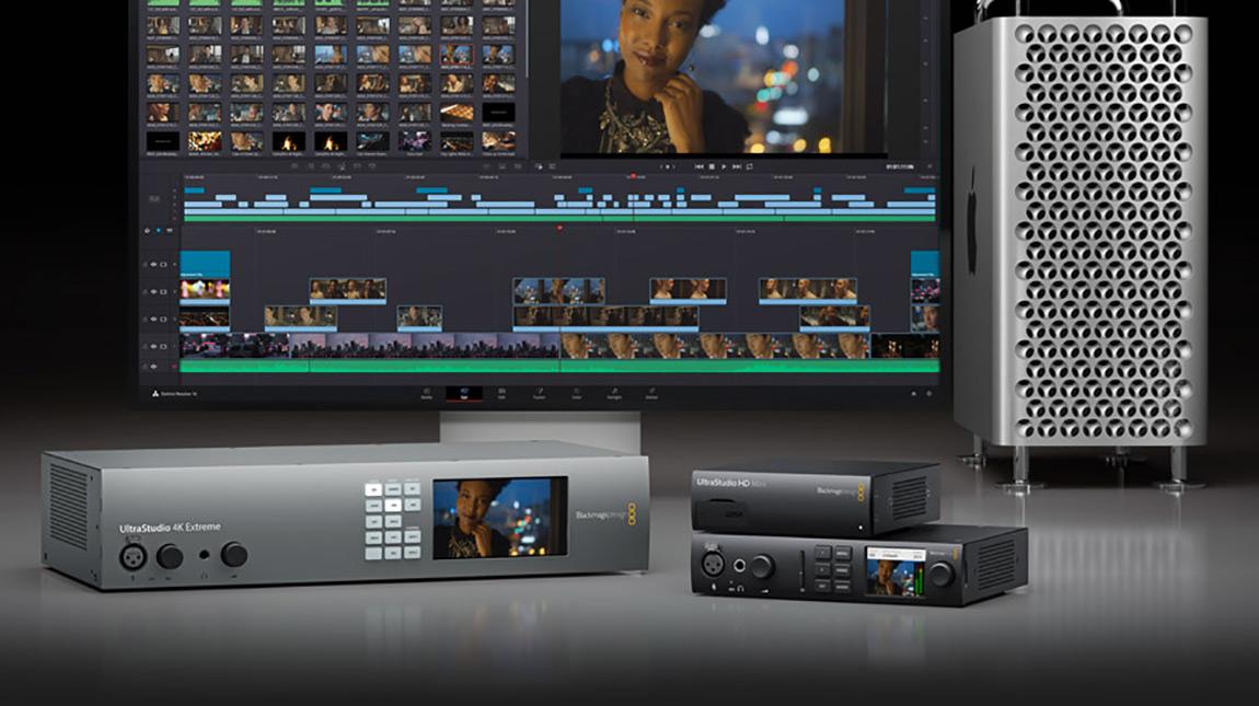 بلاك ماجيك تعلن عن UltraStudio 4K Mini لتسجيل وعرض الفيديو
