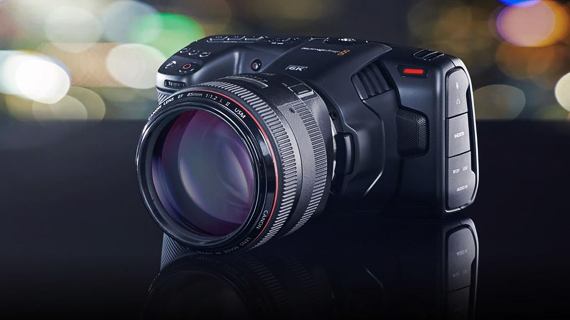 بلاك ماجيك Pocket Cinema Camera 6K كاميرا سينمائية لتصوير فيديو 6K
