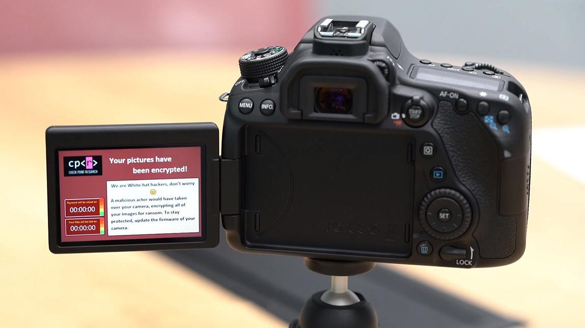 اختراق كاميرا Canon 80D بالإضافة الى كاميرات اخرى من كانون