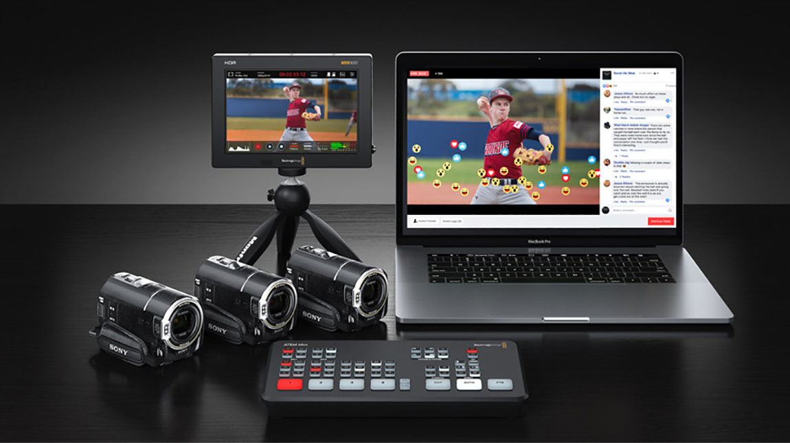 بلاك ماجيك ATEM Mini ميكسر فيديو للبث المباشر بسعر منخفض