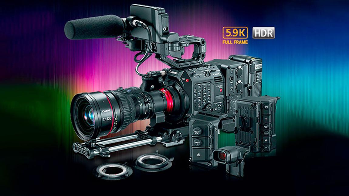 كانون C500 II كاميرا سينمائية بمستشعر فل فريم وتصوير 5.9K