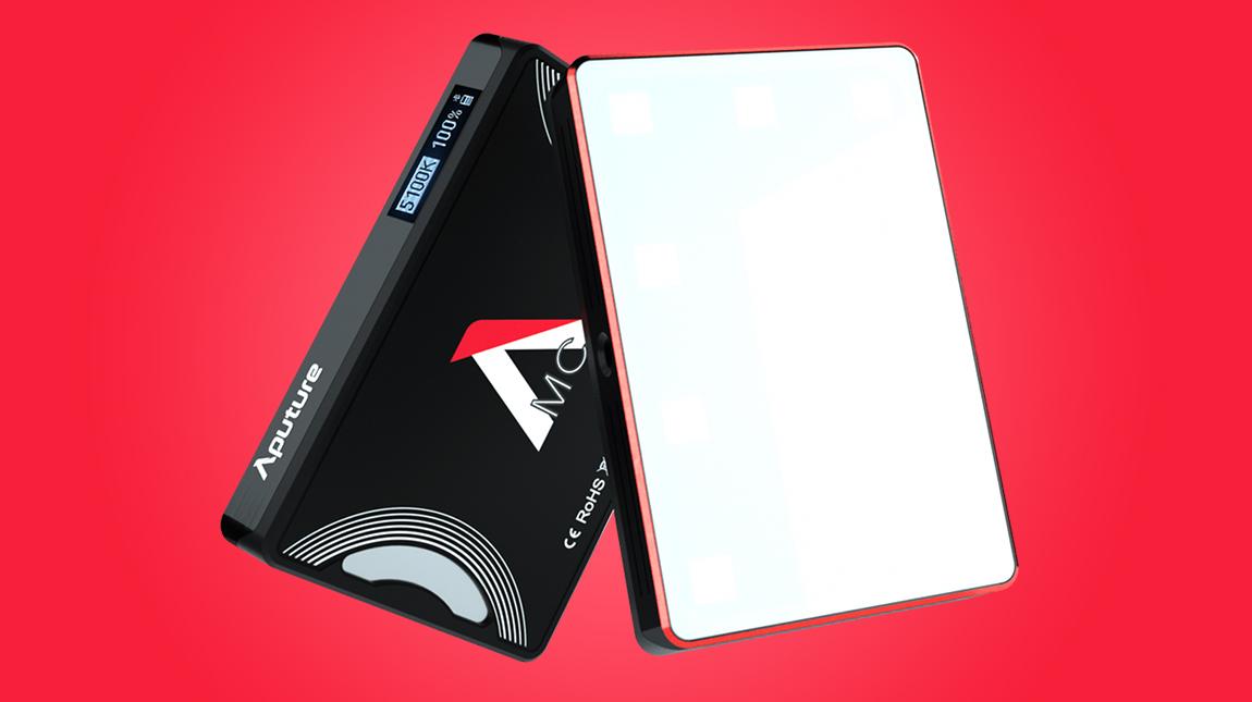 اطلاق Aputure MC ضوء ال اي دي صغير الحجم وقوي جداً بسعر منخفض