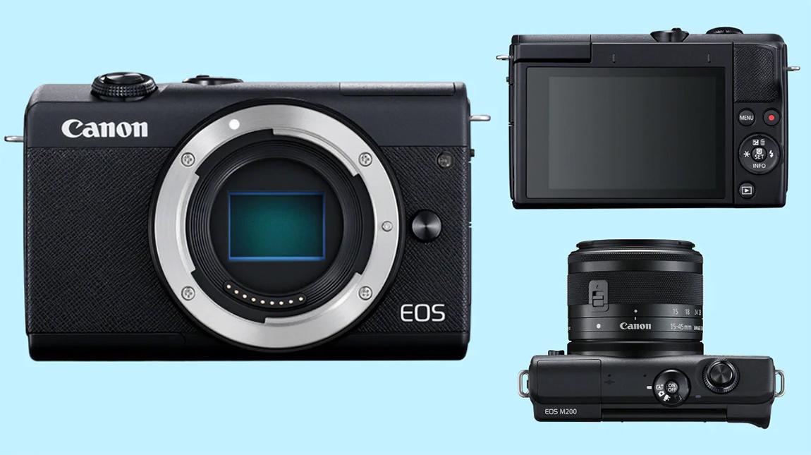 الاعلان عن كانون M200 كاميرا ميرورليس بتصوير 4K ومستشعر 24 ميجابيكسل