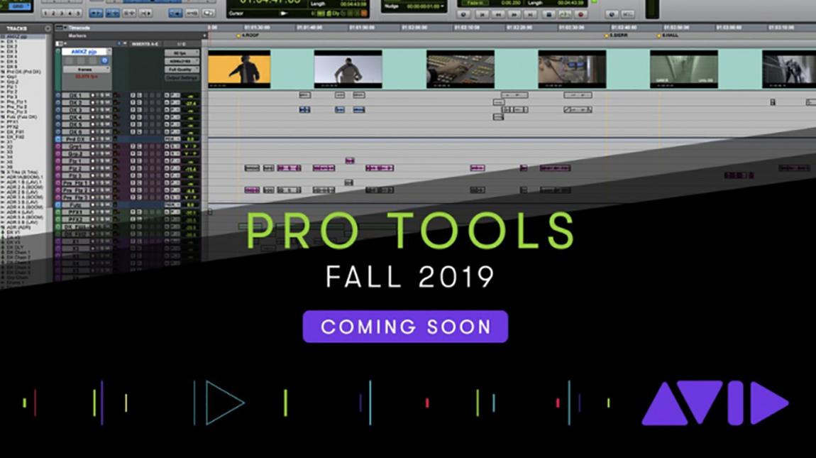 افيد تطلق Pro Tools 2019 نسخة محدثة من برنامج الهندسة الصوتية مع دعم فيديو 4K