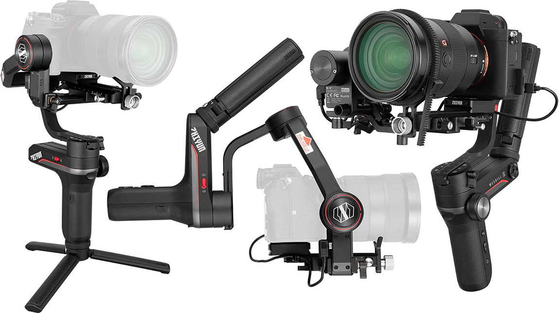 Zhiyun تعلن عن WEEBILL-S جمبل قوي لكاميرات دي اس ال ار و ميرورليس