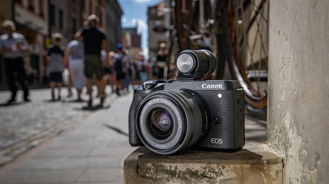اطلاق Canon M6 Mark II كاميرا رقمية مدمجة بتصوير 4K وبوضوح 32 ميجابيكسل