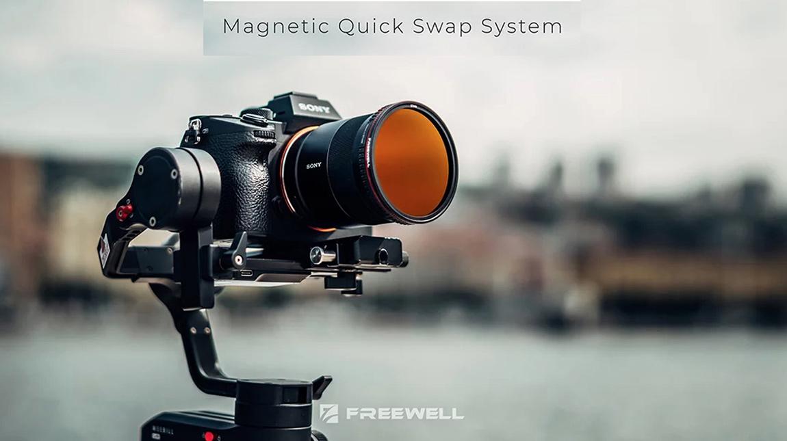 Freewell تعلن عن Magnetic Quick-Swap فلاتر مغناطيسية سريعة التبديل