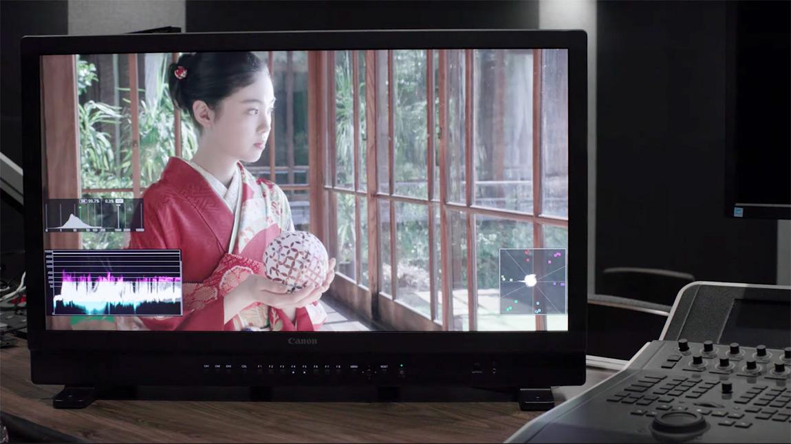 الاعلان عن شاشة Canon DP-V3120 وعدسة 4K Broadcast Zoom من كانون