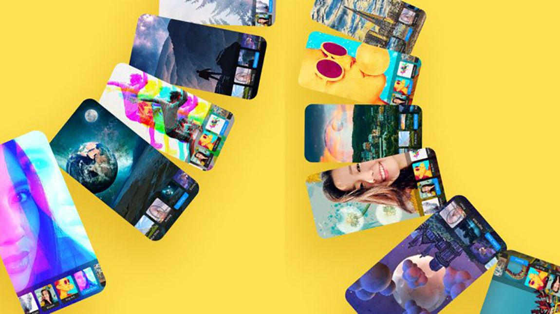 تطبيق Photoshop Camera من ادوبي لإضافة الصور والمؤثرات مباشرة اثناء التصوير