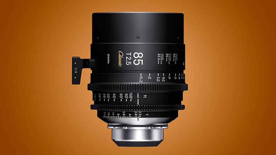 سيجما تطلق خط Classic Art Prime من العدسات السينمائية لكاميرات فل فريم