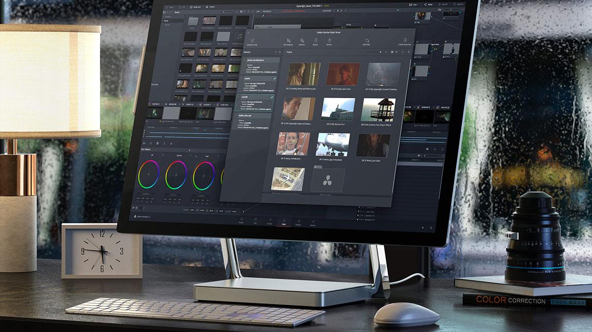 اطلاق DaVinci Resolve 16.1.1 النسخة المحدثة من برنامج مونتاج الفيديو